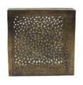 Square Brass Wall Sconce - WL139