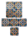 Moroccan Hand Painted Tiles - CT027