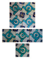 Moroccan Hand Painted Tiles - CT028