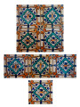 Mosaic Hand Painted Tiles - CT030