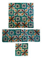 Mosaic Hand Painted Tiles - CT031