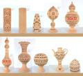 Tunisian Terracotta Clay Decor - CER024