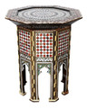 Mother of Pearl Inlaid Side Table - MOP-ST027