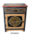 Hand Painted Cabinet from Morocco - HP-CA019
