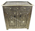 Metal and Bone Cabinet - MB-CA042