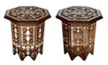 Mother of Pearl Inlay Side Table - MOP-ST040