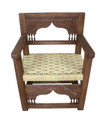 Hand Carved Wooden Chair - CW-CH008