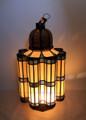 Large Brass Floor Lantern - LIG182