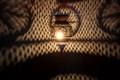 Hanging Antique Brass Finish Light - LIG190