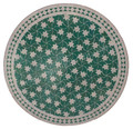 32 Inch Round Mosaic Tile Table Top - MTR238