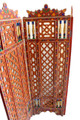 Hand Painted Wooden Screen - WPN-009