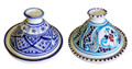 Hand Painted Small Tagine  - TJ007