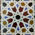 Hand Painted Mosaic Tile - TM040