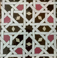 Hand Painted Mosaic Tile - TM041