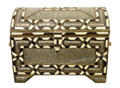 Metal and White Bone Trunk - MB-T007