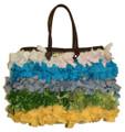 Moroccan Straw Lined Handbag - HB004B