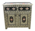 Metal and Bone Cabinet - MB-CA061