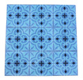 Moroccan Hand Painted Square Cement Tile - CT087
