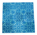 Moroccan Hand Painted Square Cement Tile - CT089
