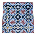 Moroccan Hand Painted Cement Tile - CT093