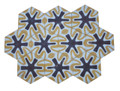Moroccan Hexagon Shaped Tile - CT097