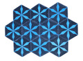 Hexagon Shaped Moroccan Cement Tile - CT100