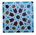 Moroccan Mosaic Cement Tile - TM060