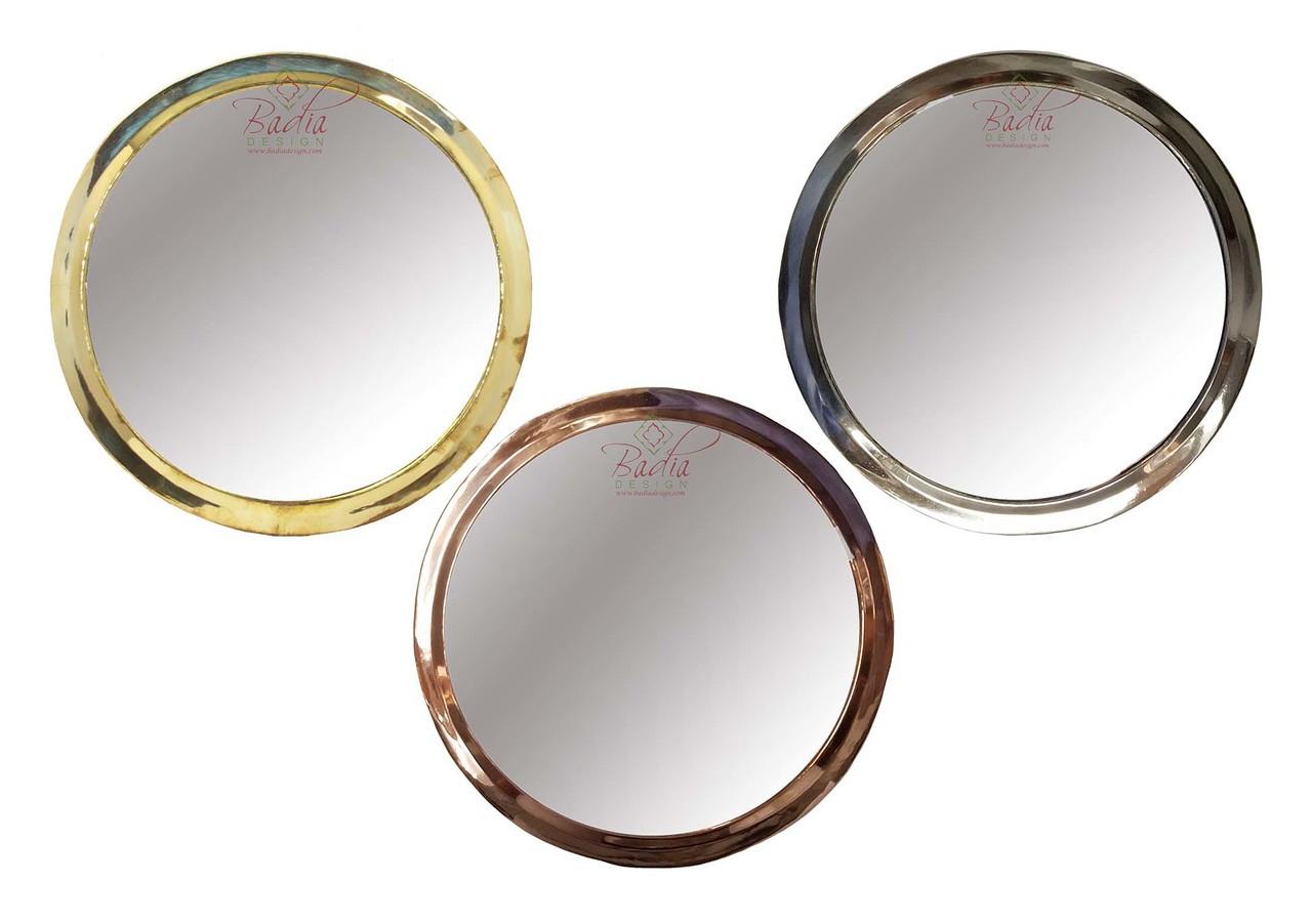 Round Decorative Metal Mirrors M Em016