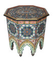 Multi Color Hand Painted Side Tables - HP011