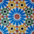 Moroccan Cement Floor Tile - CT104