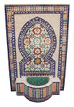 Moroccan Mosaic Water Fountain - MF637