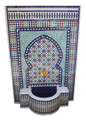 Moroccan Mosaic Water Fountain - MF644