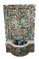 Moroccan Multi Color Mosaic Water Fountain - MF649