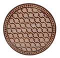 32 Inch Round Mosaic Tile Table Top - MTR245