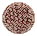 32 Inch Intricately Designed Tile Table Top - MTR246