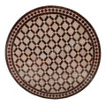 32 Inch Intricately Designed Tile Table Top - MTR247