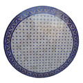 Blue Moroccan Tile Table Top - MTR434