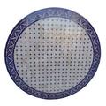 Blue Moroccan Tile Table Top - MTR434