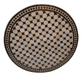 36 Inch Round Moroccan Tile Table Top - MTR253