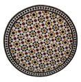 Intricately Designed Moroccan Tile Table Top - MTR254