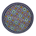 Intricately Designed Moroccan Tile Table Top - MTR257