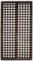 Moroccan Moucharabieh Wood Panel - WPB-007