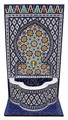 Tall Mosaic Tile Water Fountain - MF661