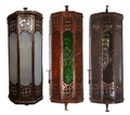 Multi-Color Glass Wall Sconce - WL215