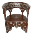 Mother of Pearl Inlaid Chair - MOP-CH024