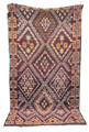 Hand Woven Moroccan Berber Rug - R760
