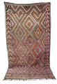 Hand Woven Moroccan Berber Rug - R751