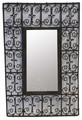 Wrought Iron Mirror - IS8