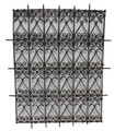 Rectangular Shaped Wrought Iron Panel - IP021