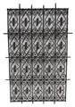 Rectangular Shaped Wrought Iron Panel - IP022